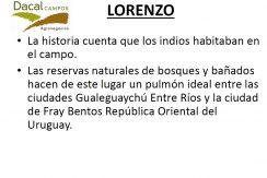 RESERVA EL LORENZO HISTORIA